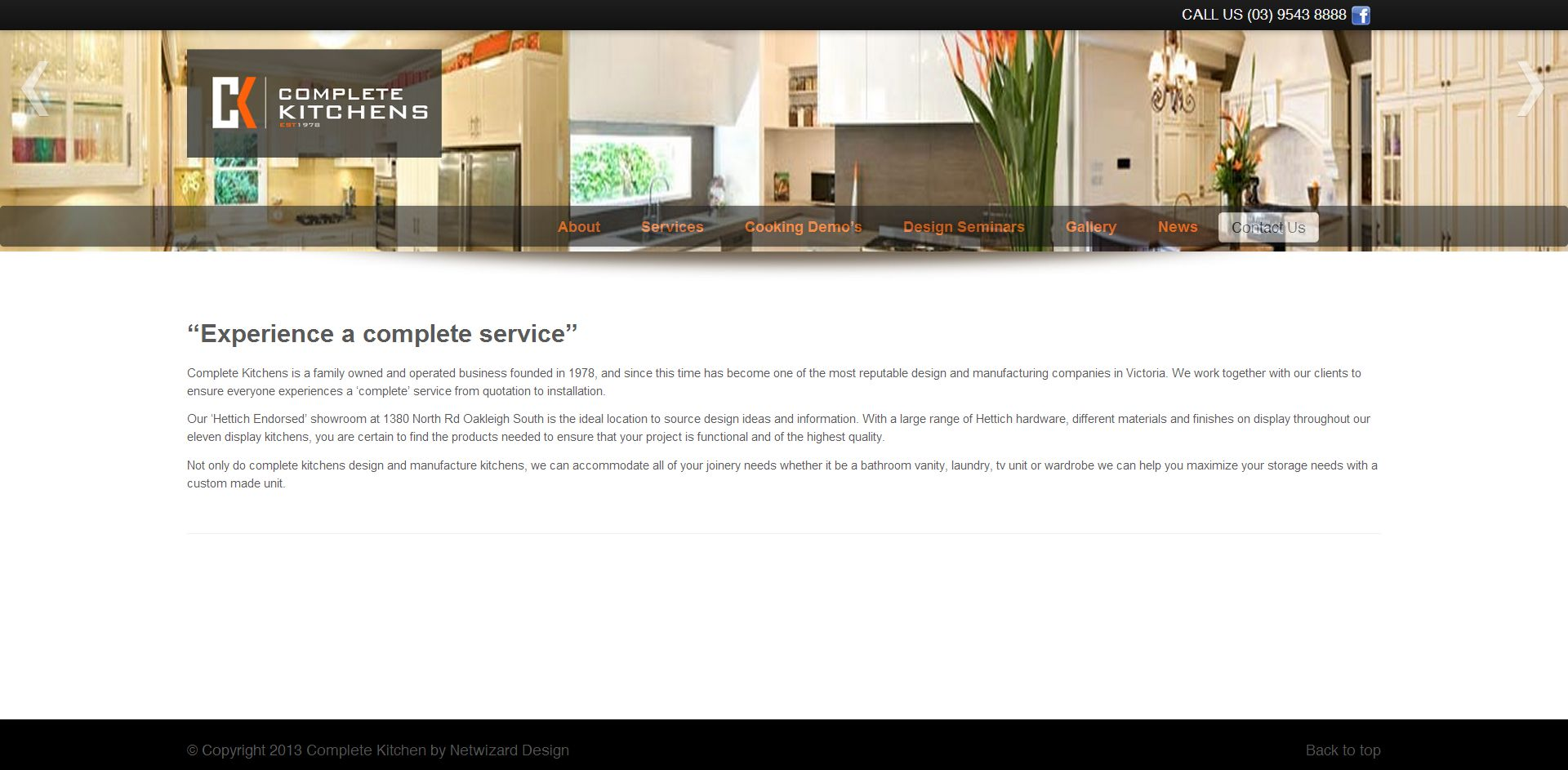 Complete Kitchens Australia Pty Ltd | EllahWorks.