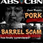 abc cbn news - pork barrel scammer Janet Napoles surrenderred to the president